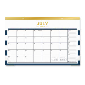 Blue Sky™ Day Designer Academic Year Desk Pad