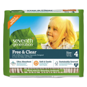 Seventh Generation® Free & Clear Baby Diapers
