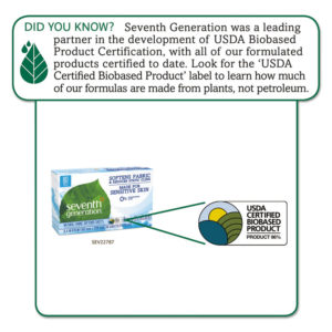 Seventh Generation® Natural Fabric Softener Sheets