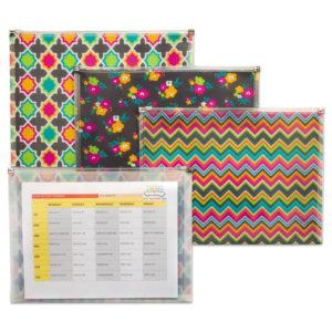 C-Line® Fashion Zip 'N Go™ Reusable Envelope