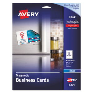 Avery® Magnetic Business Cards