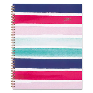 Cambridge® Carousel Stripe Weekly/Monthly Planners