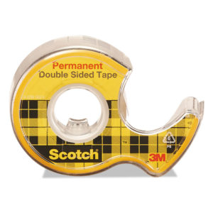 Scotch® Double-Sided Permanent Tape in Handheld Dispenser