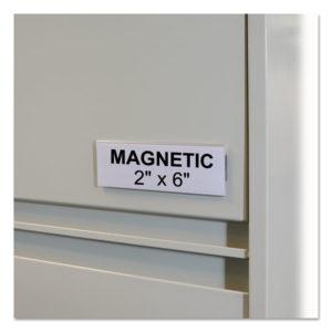 C-Line® HOL-DEX® Magnetic Shelf/Bin Label Holders