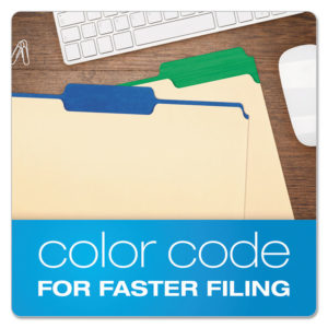 Pendaflex® Color Tab File Folders