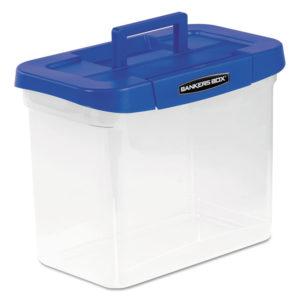 Bankers Box® Heavy-Duty Portable File Box
