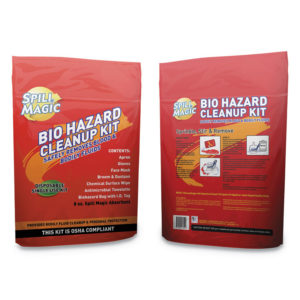 Spill Magic™ Biohazard Spill CleanUp