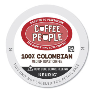 Coffee People® 100% Colombian K-Cup
