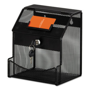 Safco® Onyx™ Mesh Collection Box