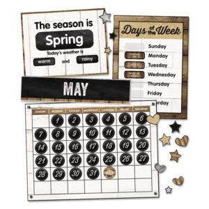 Schoolgirl Style Calendar Bulletin Board Sets