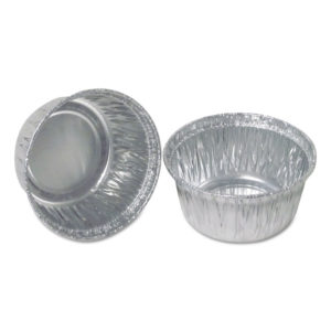 Durable Packaging Aluminum Round Containers