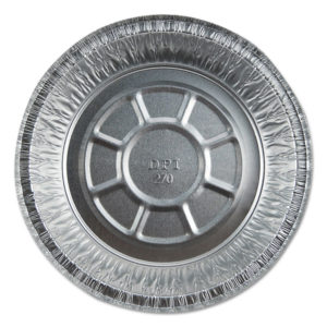 Durable Packaging Aluminum Round Containers with Board Lid