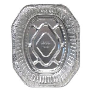 Durable Packaging Aluminum Roaster Pans