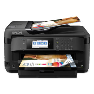 Epson® Workforce WF7710 Wide Format All In One Printer
