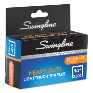 Swingline® Light Touch® Heavy-Duty Staples
