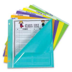 C-Line® 5-Tab Index Dividers with Vertical Tab