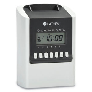 Lathem® Time 700E Calculating Time Clock