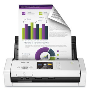 Brother ImageCenter™ ADS-1700W Wireless Dual CIS Scanner