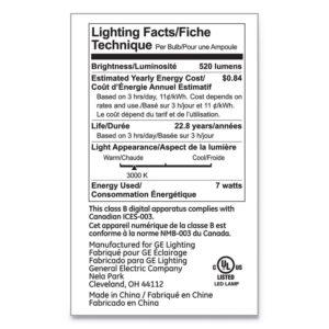 GE LED PAR20 Dimmable Warm White Flood Light Bulb