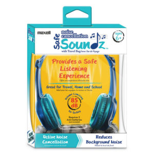 Maxell® Safe Soundz Volume Limiting Noise Cancellation Headphone