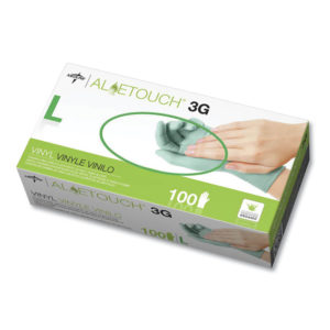Medline Aloetouch® 3G Synthetic Exam Gloves - CA Only