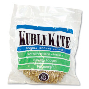 Kurly Kate® Brass Scrubber