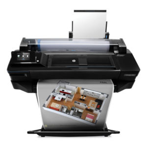 HP DesignJet T520 Printer (C Version)