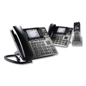 RCA® Unison 1-4 Line Wireless Phone System Bundle