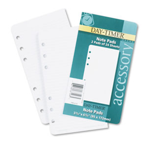 Day-Timer® Loose-Leaf Lined Pages