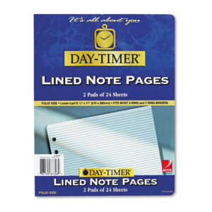 Day-Timer® Lined Pages