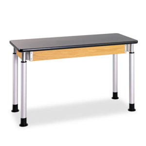 Diversified Woodcrafts Adjustable-Height Table