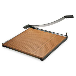 X-ACTO® Square Commercial Grade Wood Base Guillotine Trimmer