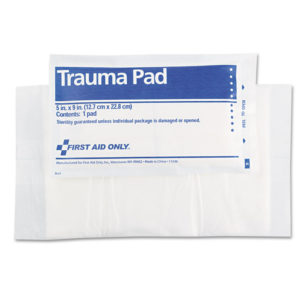 First Aid Only™ SmartCompliance Trauma Pad