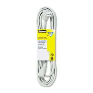 Fellowes® Indoor Heavy-Duty Extension Cord