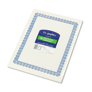 Geographics® Archival Quality Parchment Certificates