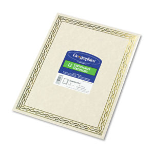 Geographics® Award Certificates