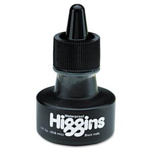 Higgins® Waterproof Pigmented Drawing Inks