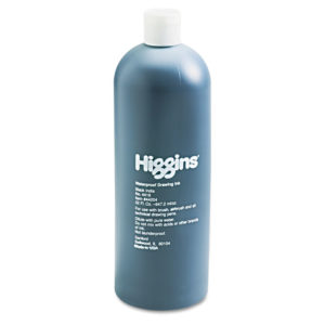 Higgins® Waterproof Pigmented Drawing Inks