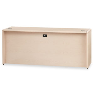 HON® 10700 Series™ Kneespace Credenza with Full-Height Pedestals