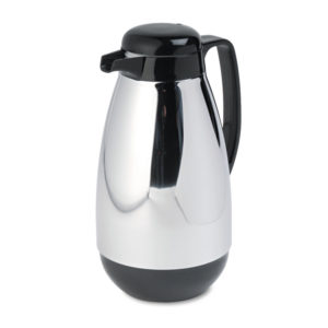 Hormel Vacuum Glass Lined Chrome-Plated Carafe