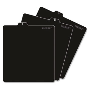 Vaultz® A-Z CD File Guides