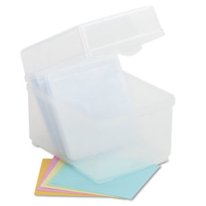 Innovera® Polypropylene CD/DVD Storage Box