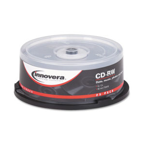 Innovera® CD-RW Rewritable Disc