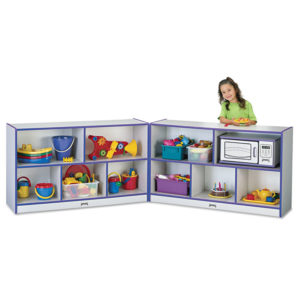 Jonti-Craft Rainbow Accents® Fold-n-Lock Storage Units