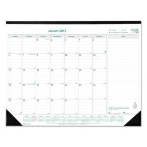 Brownline® EcoLogix® Monthly Desk Pad Calendar