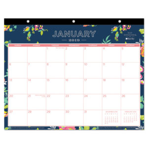Blue Sky™ Day Designer Tablet Calendar