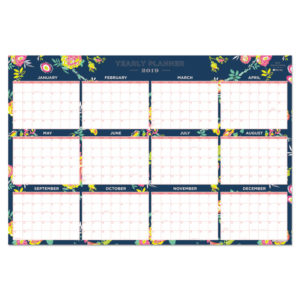 Blue Sky™ Day Designer Laminated Wall Calendar