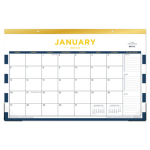 Blue Sky™ Day Designer Desk Pad Calendar