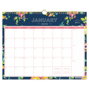 Blue Sky™ Day Designer Wirebound Wall Calendar