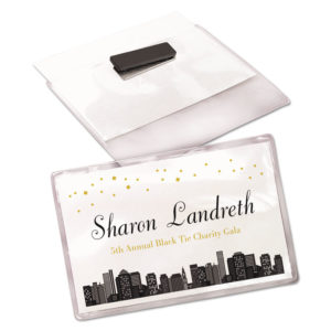 Avery® Magnetic Style Name Badge Kit